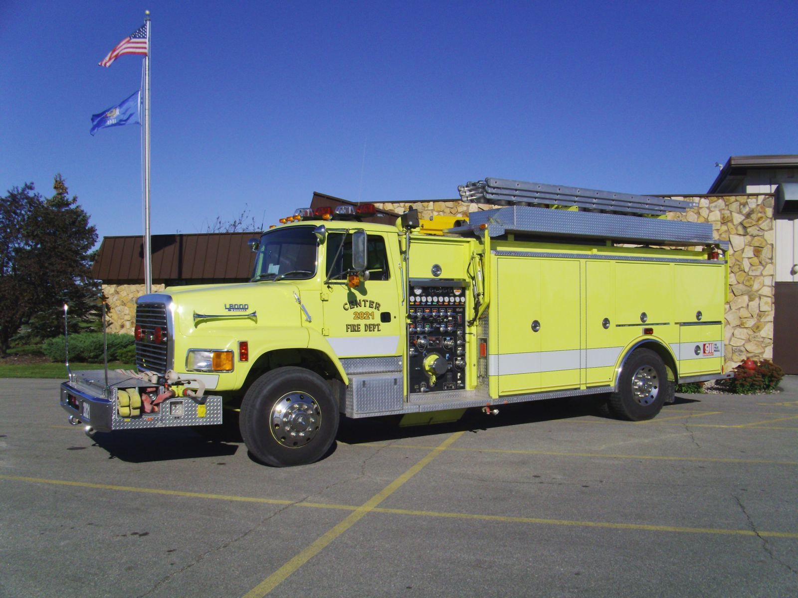 1992 Ford - 3D Manufacturing (Engine 2821)